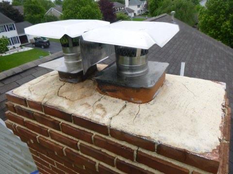 new chimney top needed
