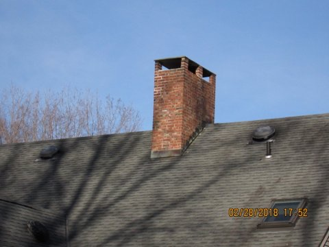 Chimney Flashing and Chase Cover