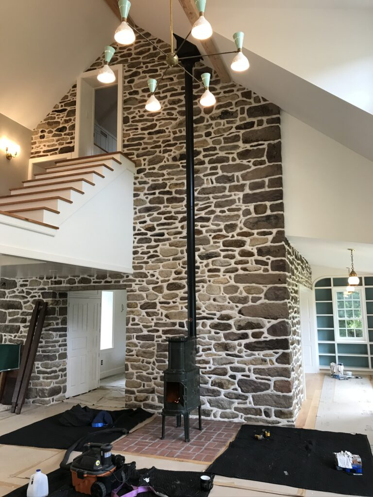 masonry and fireplace and stove installation, repair, restoration