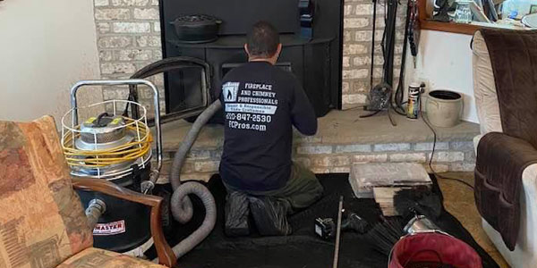 fireplace and chimney pros installs and services repairs and cleans chimneys
